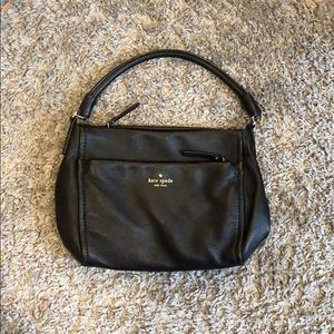 Kate Spade leather purse with shoulder strap